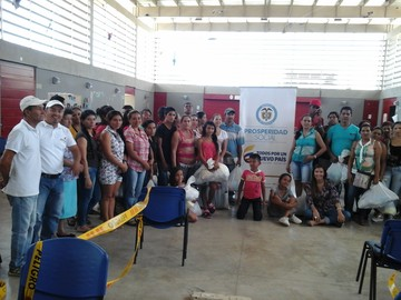 Donated Goods to More than 700 families