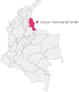 map Cúcuta